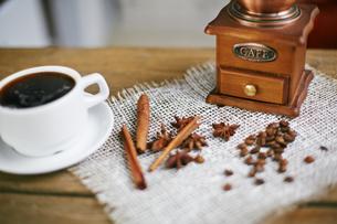 Aromatic coffeeの写真素材 [FYI00660200]