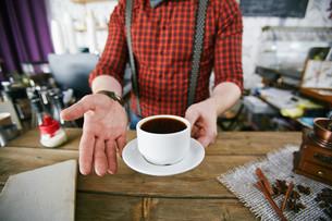 Tasty coffeeの写真素材 [FYI00660210]