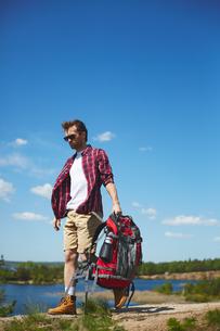 Young travelerの写真素材 [FYI00660230]