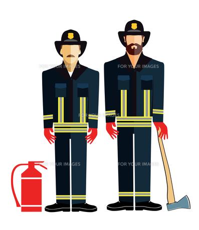 firefightersの写真素材 [FYI00660343]