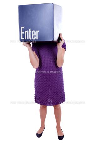 enter keyの写真素材 [FYI00660399]
