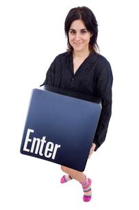 enter keyの写真素材 [FYI00660544]