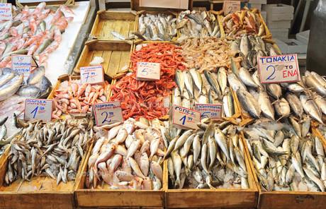 Fish Marketの写真素材 [FYI00660587]