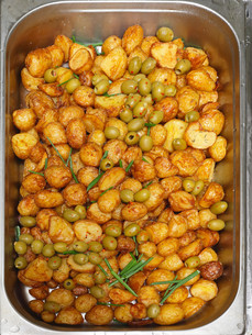New Potatoesの写真素材 [FYI00660609]