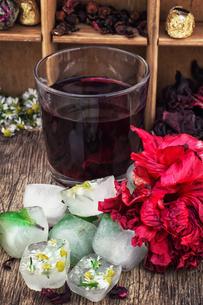 Hibiscus teaの写真素材 [FYI00660735]