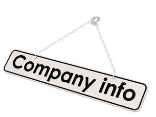 Company info bannerの写真素材 [FYI00660862]