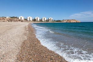 Coast in Puerto de Mazarron, Region Murcia, Costa Calida, Spainの写真素材 [FYI00660932]