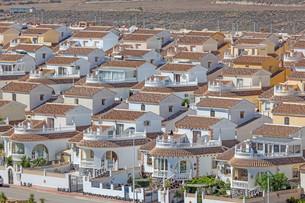 Vacation homes in the urbanisation Camposol, Region Murcia, Spainの写真素材 [FYI00660934]