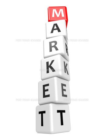 Buzzword marketの写真素材 [FYI00661333]