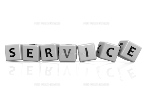 Service buzzwordの写真素材 [FYI00661353]