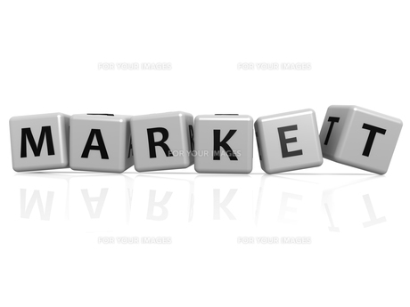 Market buzzwordの写真素材 [FYI00661354]