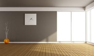 Empty living roomの写真素材 [FYI00661484]