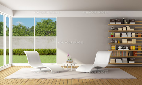 Modern Living roomの写真素材 [FYI00661486]