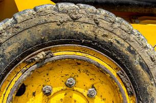 Tire bulldozerの写真素材 [FYI00661541]