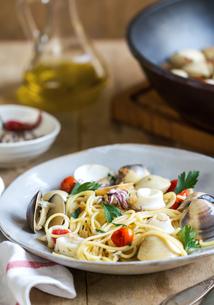 Spaghetti seafoodの写真素材 [FYI00661870]