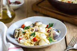 Spaghetti seafoodの写真素材 [FYI00661873]