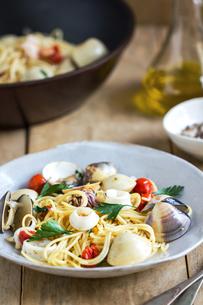 Spaghetti seafoodの写真素材 [FYI00661875]