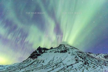 The Northern Light Aurora borealisの写真素材 [FYI00661928]