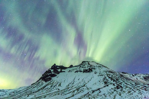 The Northern Light Aurora borealisの写真素材 [FYI00661928]