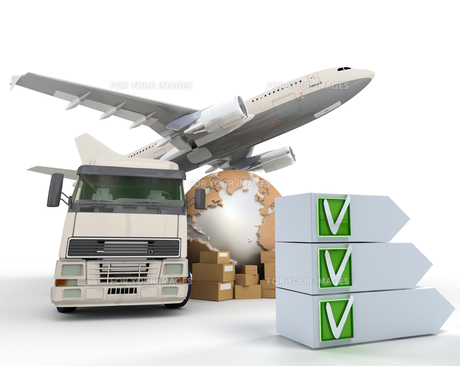 Transport checklistの写真素材 [FYI00661947]