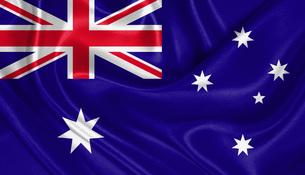 Flag of Australiaの写真素材 [FYI00661954]