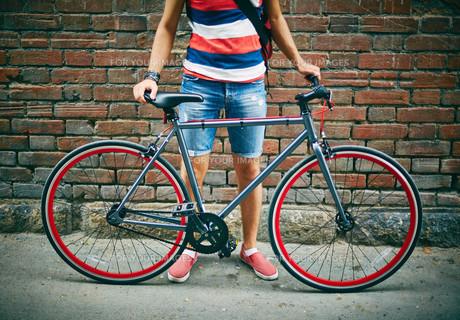 Bicycle of sportsmanの素材 [FYI00662187]
