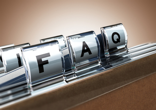 FAQの写真素材 [FYI00662206]
