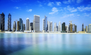 Dubai Downtownの写真素材 [FYI00662264]