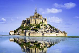 Mont saint Michelの写真素材 [FYI00662265]