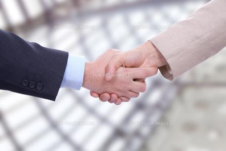 handshakeの素材 [FYI00662292]