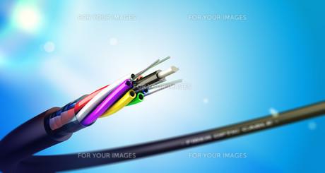 Fiber Optic Cable, NTICの素材 [FYI00662451]