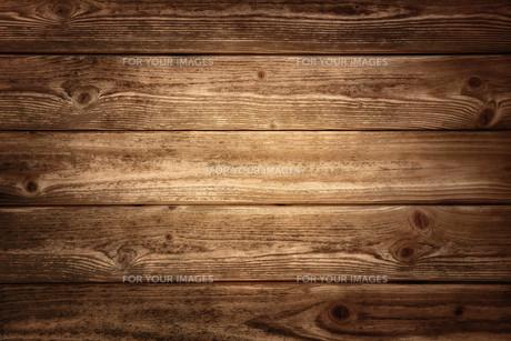 rustic wood planks backgroundの写真素材 [FYI00662530]