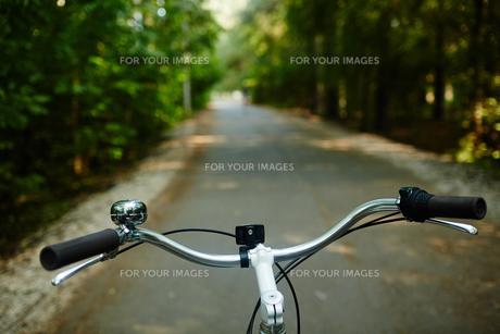 Steer of bicycleの素材 [FYI00662623]