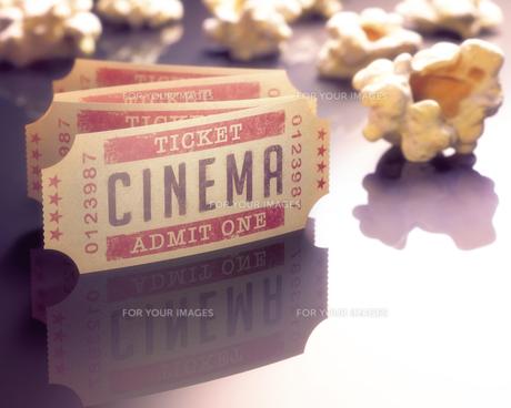Cinema Ticketの写真素材 [FYI00662670]