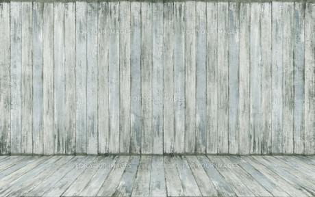 empty wooden roomの写真素材 [FYI00662689]