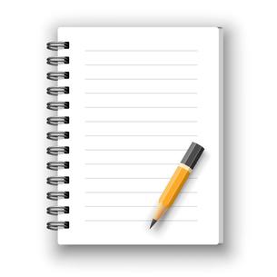 notebookの写真素材 [FYI00662842]