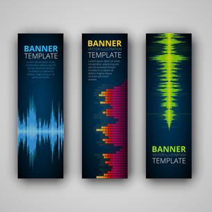 A set of modern vector bannersの写真素材 [FYI00662845]
