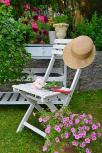 garden outdoor furnitureの写真素材 [FYI00662863]