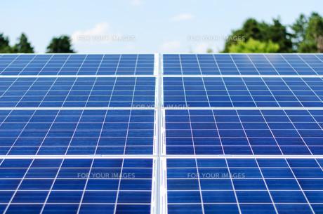 Photovoltaic panelの写真素材 [FYI00662920]