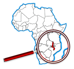Malawi Under A Magnifying Glassの素材 [FYI00663173]