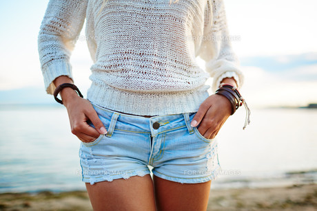 Summer styleの写真素材 [FYI00663230]