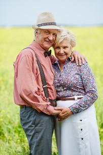 Affectionate seniorsの写真素材 [FYI00663455]