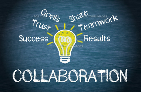 Collaboration - Business Conceptの写真素材 [FYI00663585]