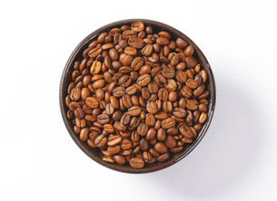 Roasted coffee beansの写真素材 [FYI00663648]