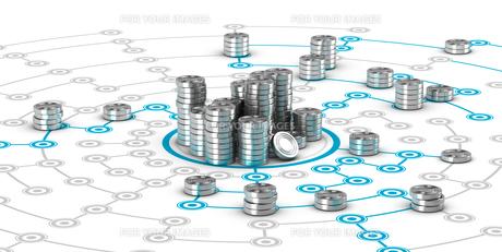 Collaborative Finance, Crowdfundingの写真素材 [FYI00663660]