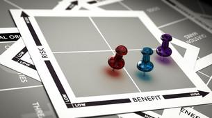 Risk vs Benefit Assessmentの写真素材 [FYI00663662]