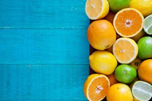 Healthy Citrus Fruitsの写真素材 [FYI00663693]