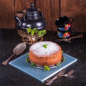japanese cheesecakeの写真素材 [FYI00663778]