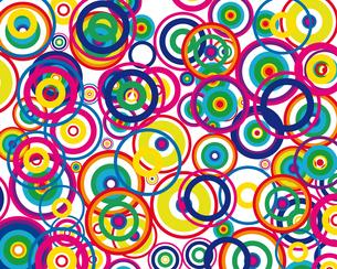 circles backgroundの写真素材 [FYI00663887]