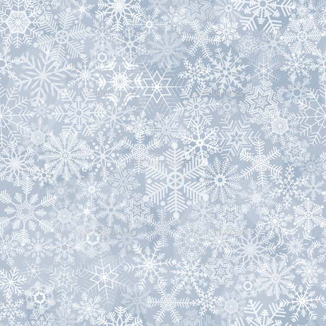 seamless abstract snowflake backgroundの写真素材 [FYI00663890]